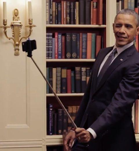 Le selfie stick, on en parle ?
