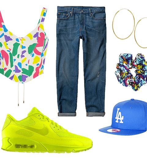 Get the look: La God Save The 90's