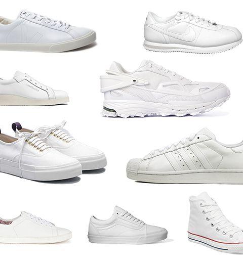 10 paires de sneakers blanches pour cet été