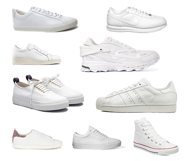 newest 2df68 e898d On vous propose 10 paires de baskets blanches alternatives aux Stan Smith.