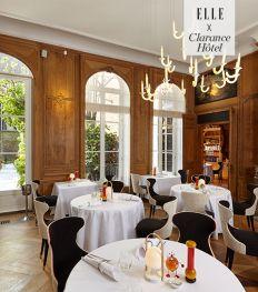 La Table du Clarance, restaurant étoilé dans un hôtel de luxe