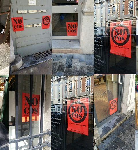 COS dans le quartier Dansaert : émotions, optimisme et réactions