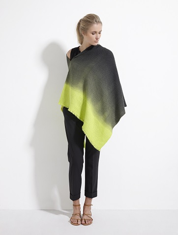 WEHVE Poncho Garzon Tie Dye Canary EUR 299