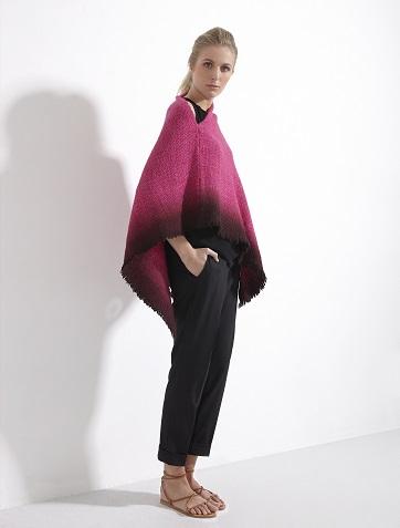 WEHVE Poncho Garzon Tie Dye Pink EUR 299