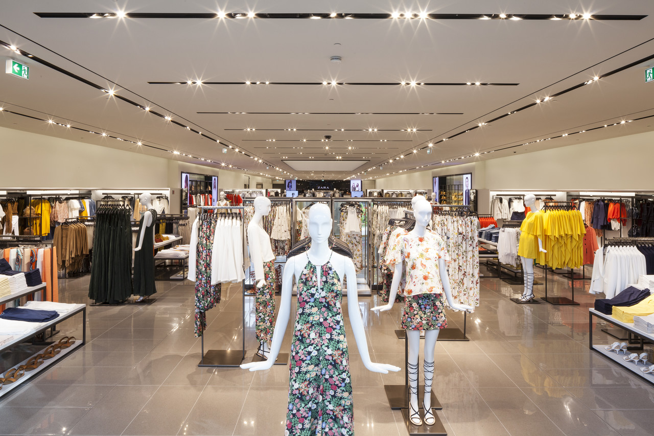 Zara ouvre son plus grand magasin en belgique for Interieur winkel gent