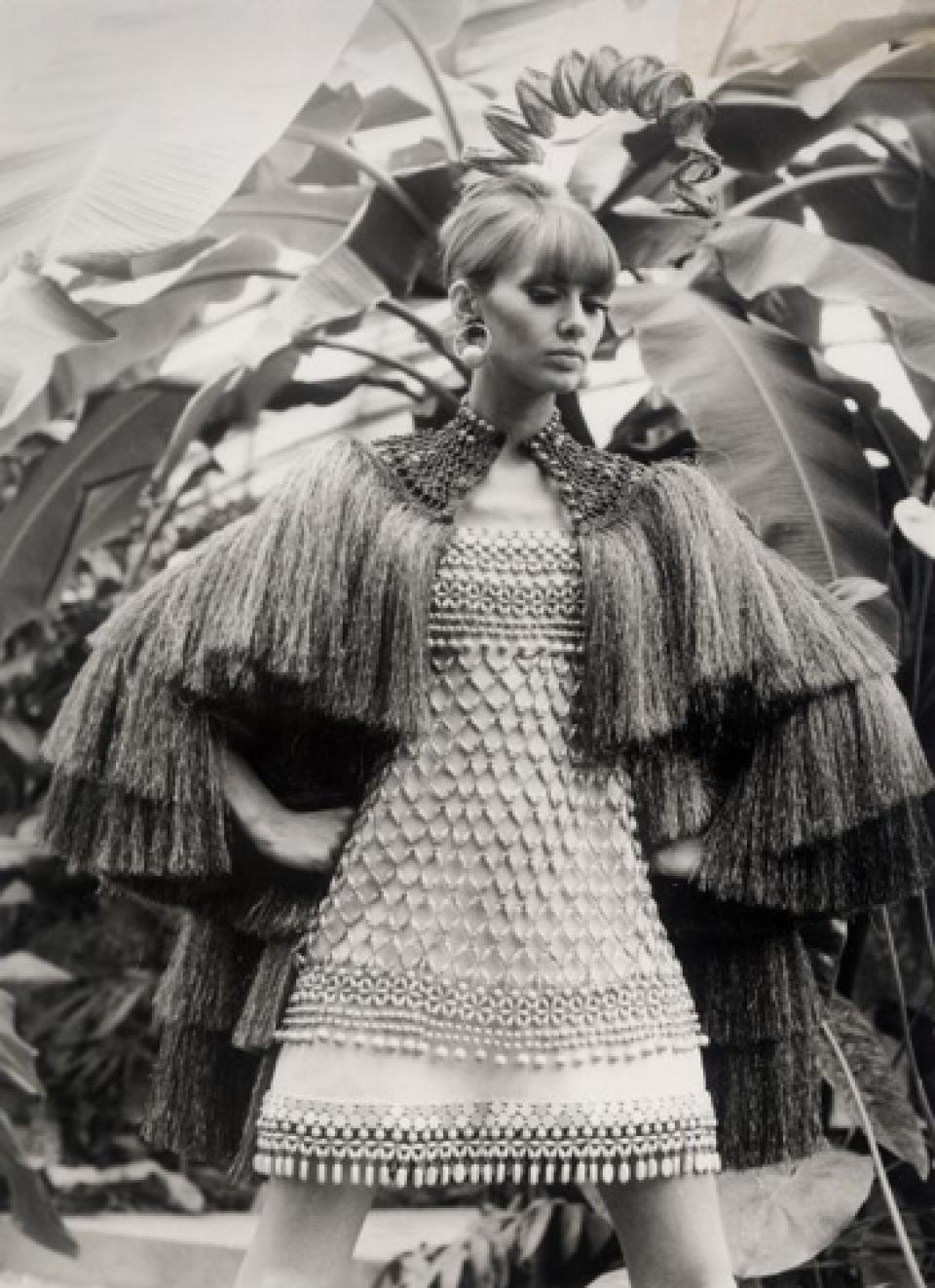 Collection Bambara. Yves Saint Laurent, 1967.