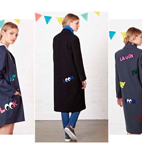 Les manteaux emoticônes de C x Mira Mikati