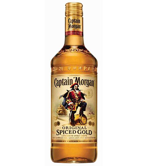 Cocktail d'été version Captain Morgan