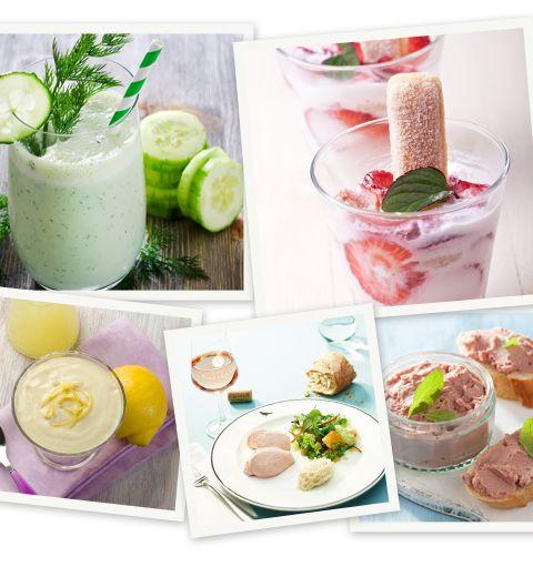 5 recettes de mousses pour l'été
