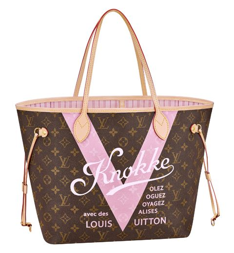 Must Have: Le Neverfull MM Monogram V Knokke de Louis Vuitton