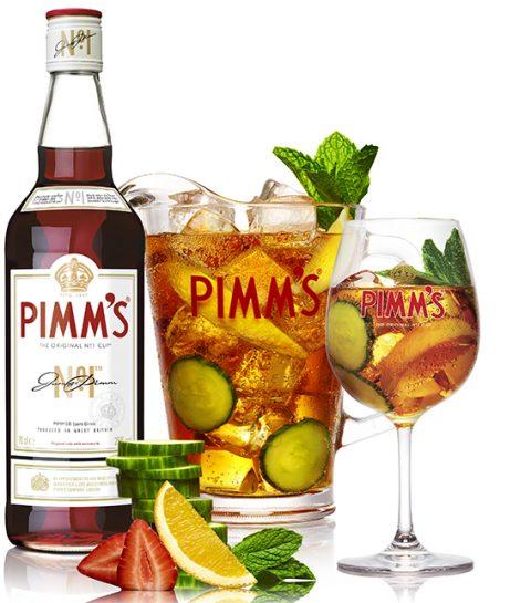 Cocktail rafraichissant… Avec duPimm's