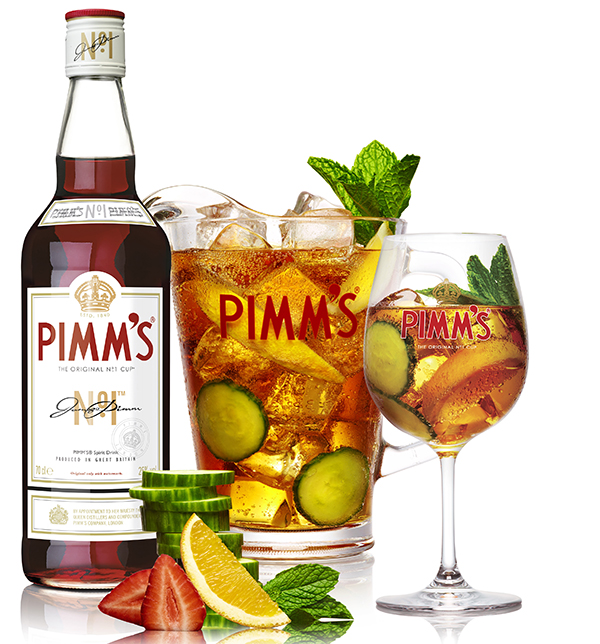 Pimms background
