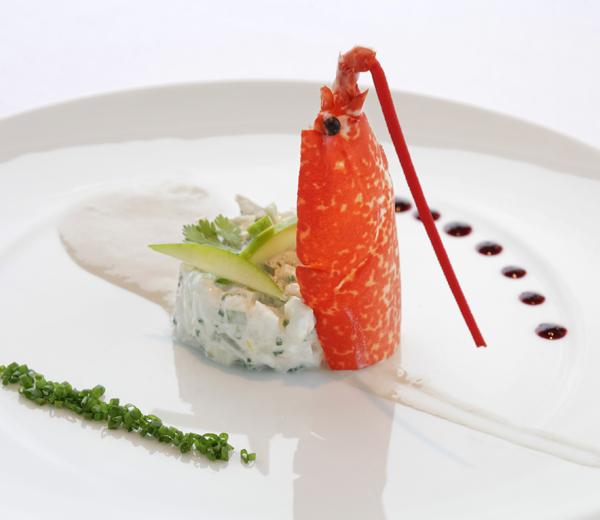Recette-light-Tartare artichaut homard