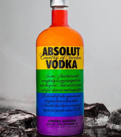 Cocktail explosif avec de l'Absolu Vodka