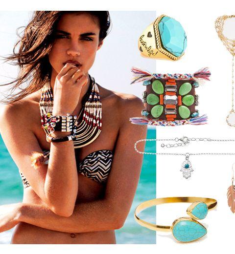 Les bijoux de plage