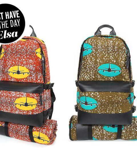 Le sac à dos Eastpak x Vlisco