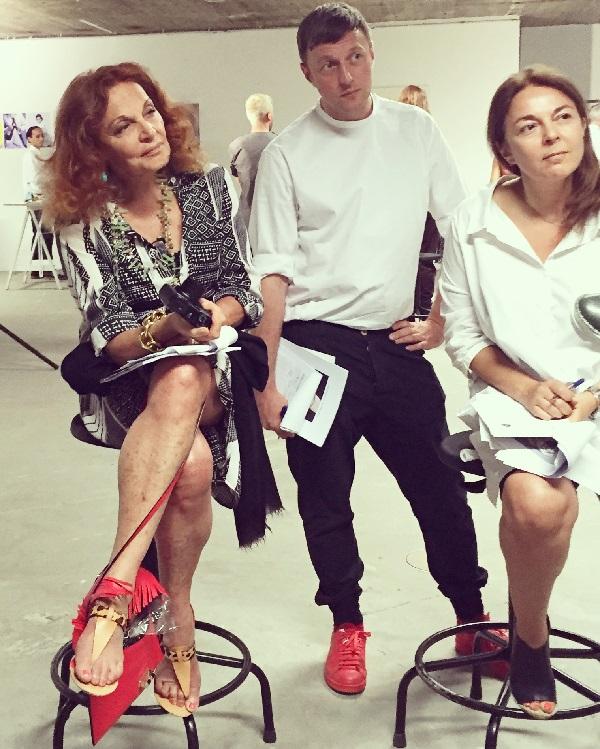 Dans le jury : Diane von Furstenberg, Cédric Charlier et Béa Ercolini