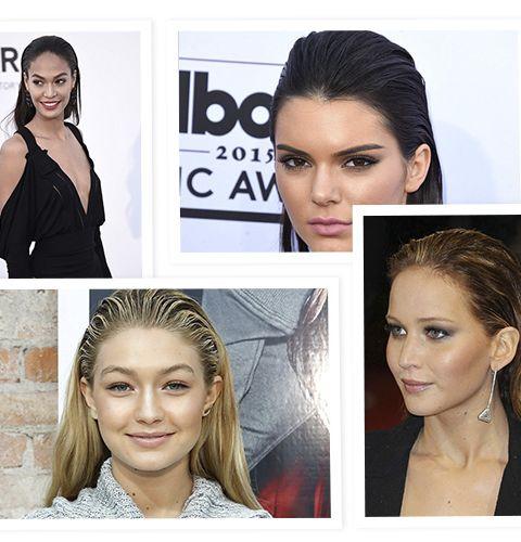 Tendance coiffure pour l'été: le wet look