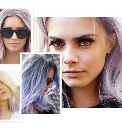 Le nouveau hit: les cheveux pastels
