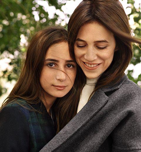 Charlotte Gainsbourg et sa fille Alice égéries pour Comptoir des Cotonniers