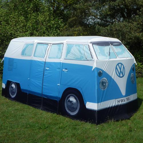 VW Camper Van Tent blue_0
