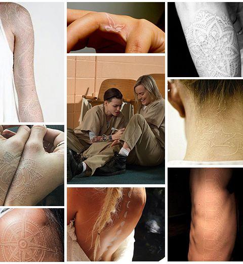 25 Tatouages A L Encre Blanche Elle Be