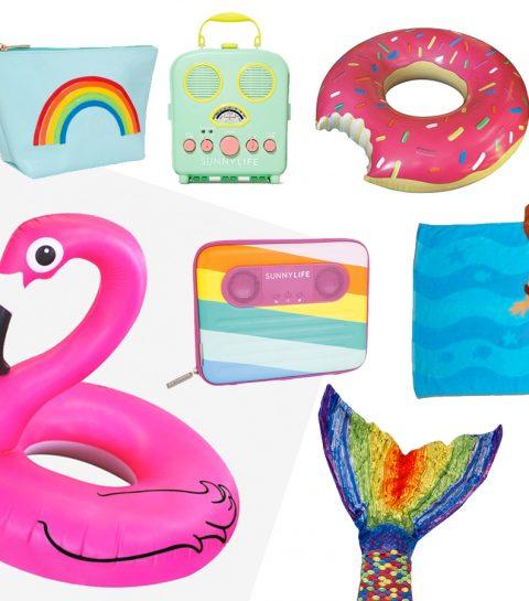 10 accessoires de plage qui donnent le sourire