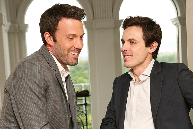 LONDON - MAY 28: (UK TABLOID NEWSPAPERS OUT) Director Ben Affleck (L) and actor Casey Affleck attend a photocall to promote the film 'Gone Baby Gone' at the Mandarin Oriental on May 28, 2008 in London, England. (Photo by Claire Greenway/Getty Images)