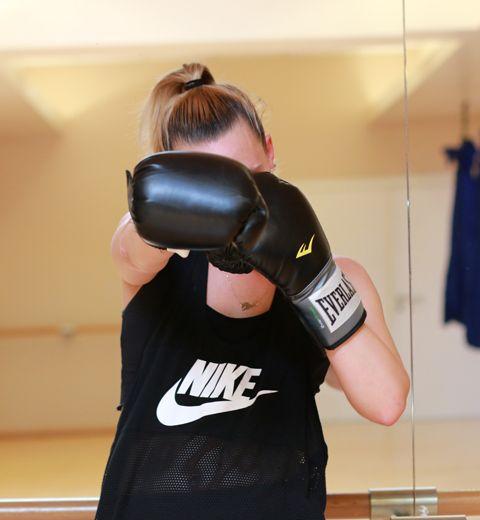 Mon premier cours de boxe