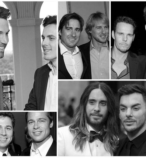 Le top 10 des frères célèbres les plus en vue