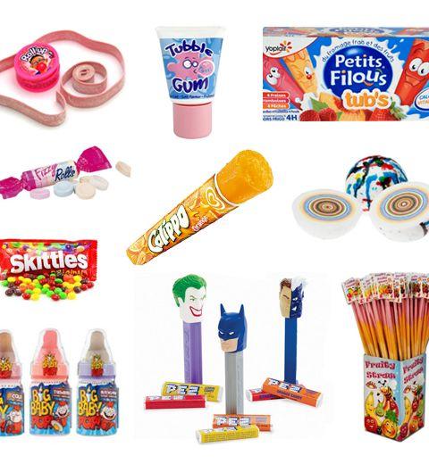 18 sucreries qui nous rappellent les années 90