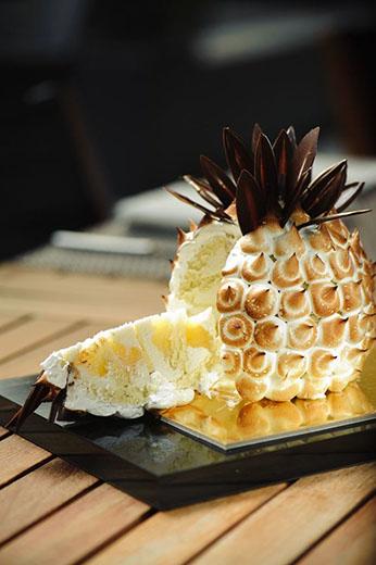 ananas meringue