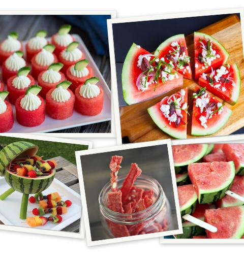 10 idées de recettes avec une pastèque