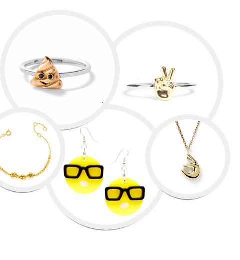 10 bijoux emojis