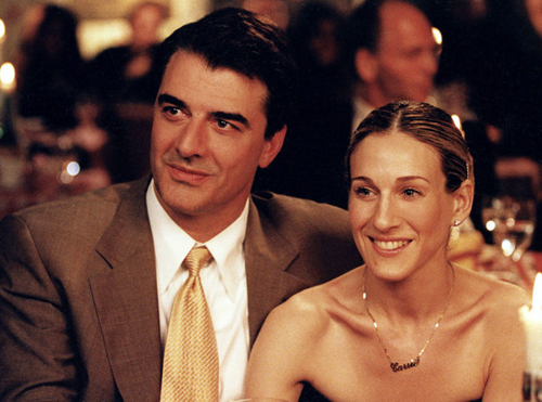 Carrie bradshaw et Mr Big