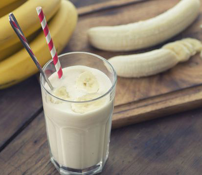 Le smoothie banane / flocons d'avoine