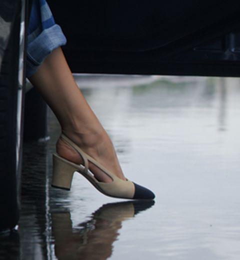 Le soulier bicolore Chanel