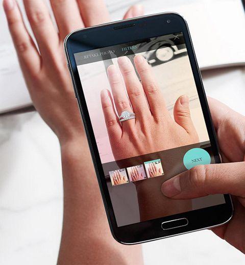 Tiffany & Co a lancé une appli pour choisir sa bague