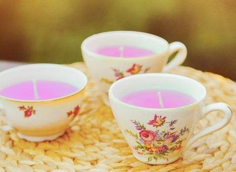 Le DIY du mercredi: les tasses bougies