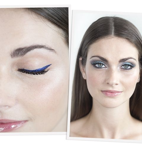 Tuto: comment porter le make-up bleu ?