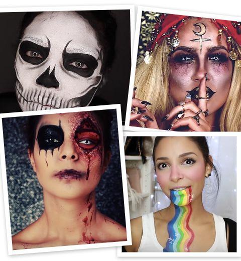 10 idées make-up pour Halloween