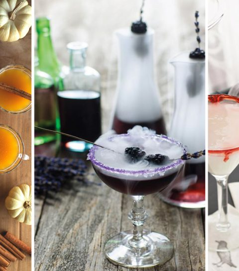 5 mystérieux cocktails pour Halloween