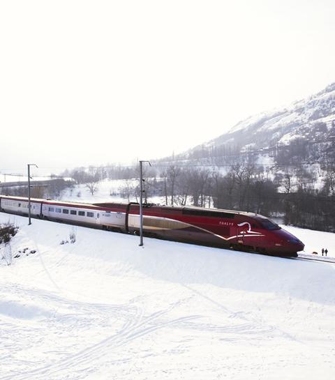 Cet hiver, montez à bord du Thalys Neige vers les Alpes Françaises