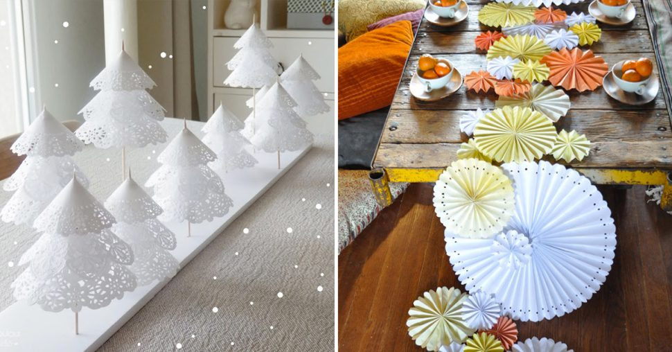 10 décorations de table à faire soi même