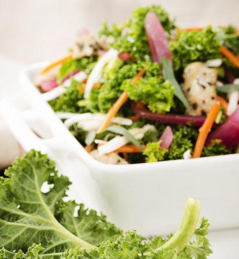 La salade au kale de chez Exki