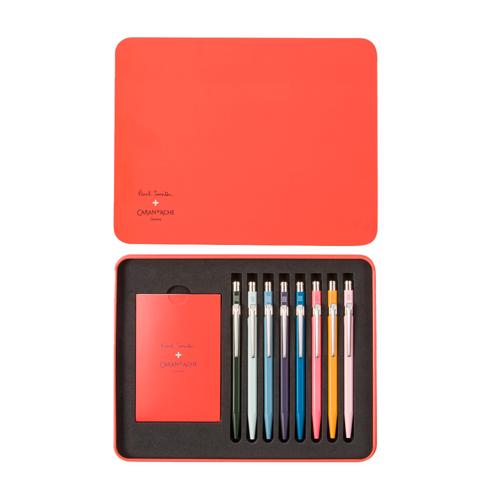 Coffret de stylo de luxe, Paul Smith x Caran d'Ache, 370€