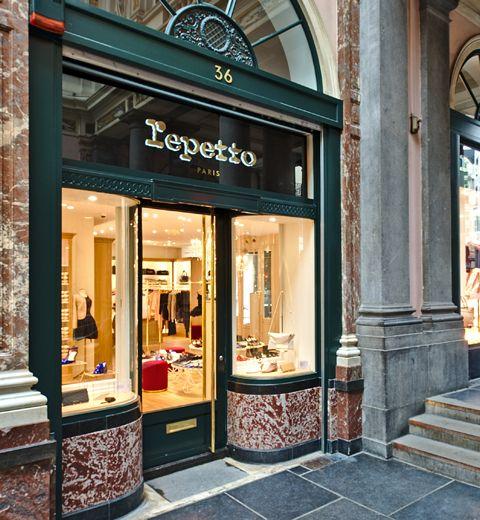 Repetto a ouvert sa boutique à Bruxelles