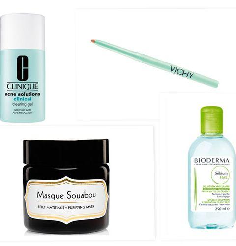 5 produits correcteurs pour les peaux grasses