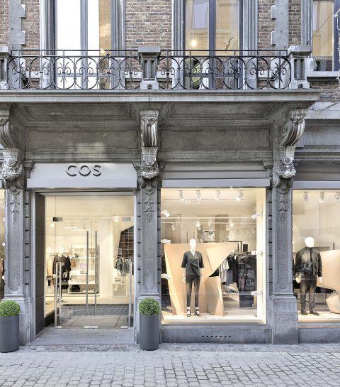 COS a ouvert une boutique à Liège
