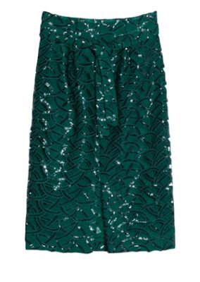 &-Other-Stories—Green-Midi-Skirt—95-euro